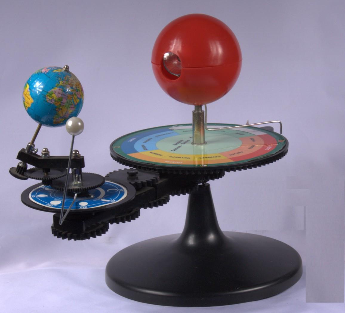 Теллурий модель солнце земля луна своими руками